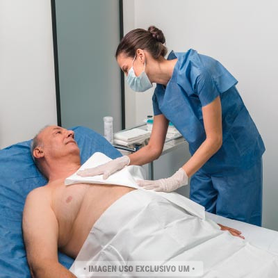 Toalla para secado corporal Hospitales