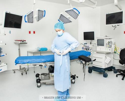 Bata para cirugía