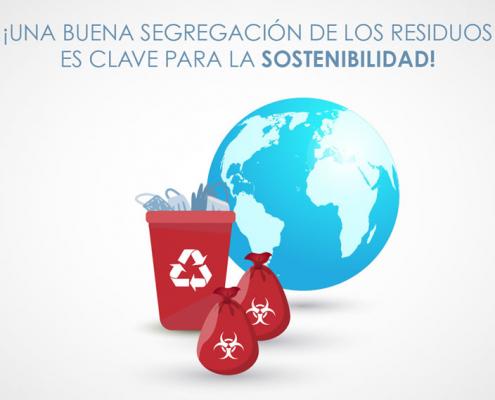 Segregación de los residuos